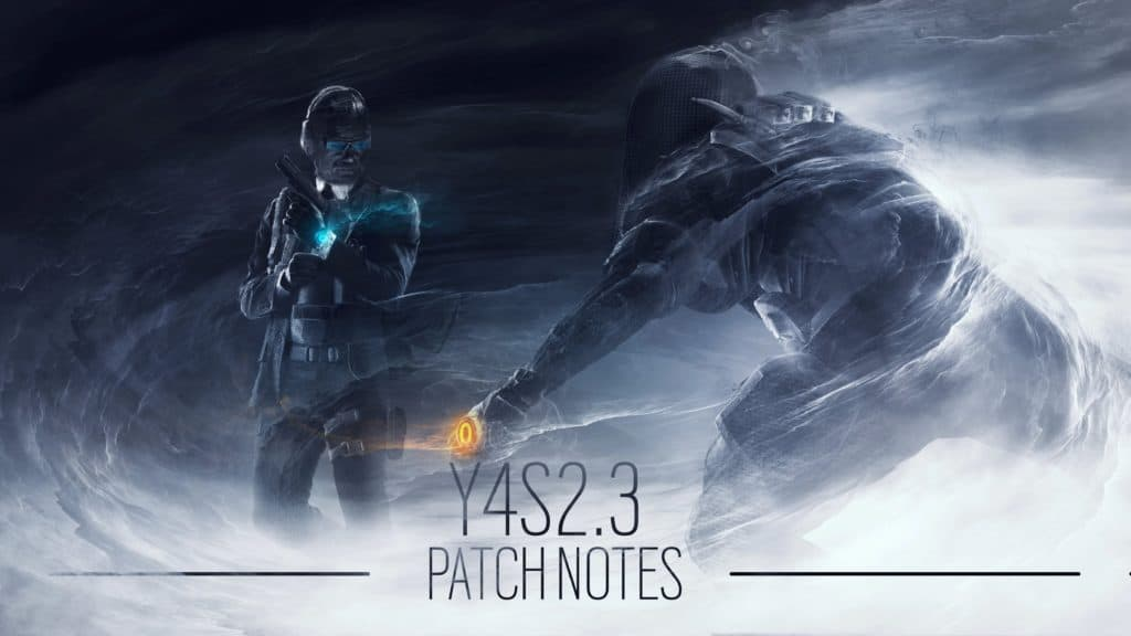 R6 - Patch Notes - Y4-S2.3